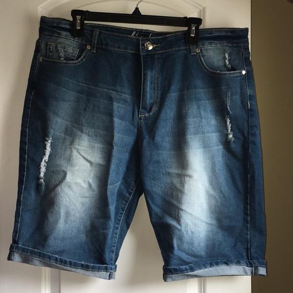 cc22ee5f01 City Chic Shorts | Distressed | Poshmark